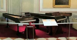 sala museo degli strumenti musicali